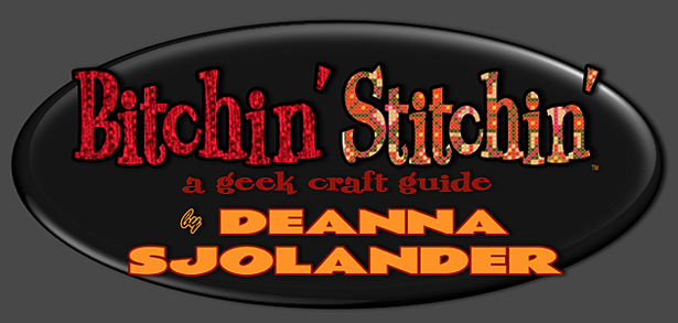 Bitchin' Stichin Column Logo