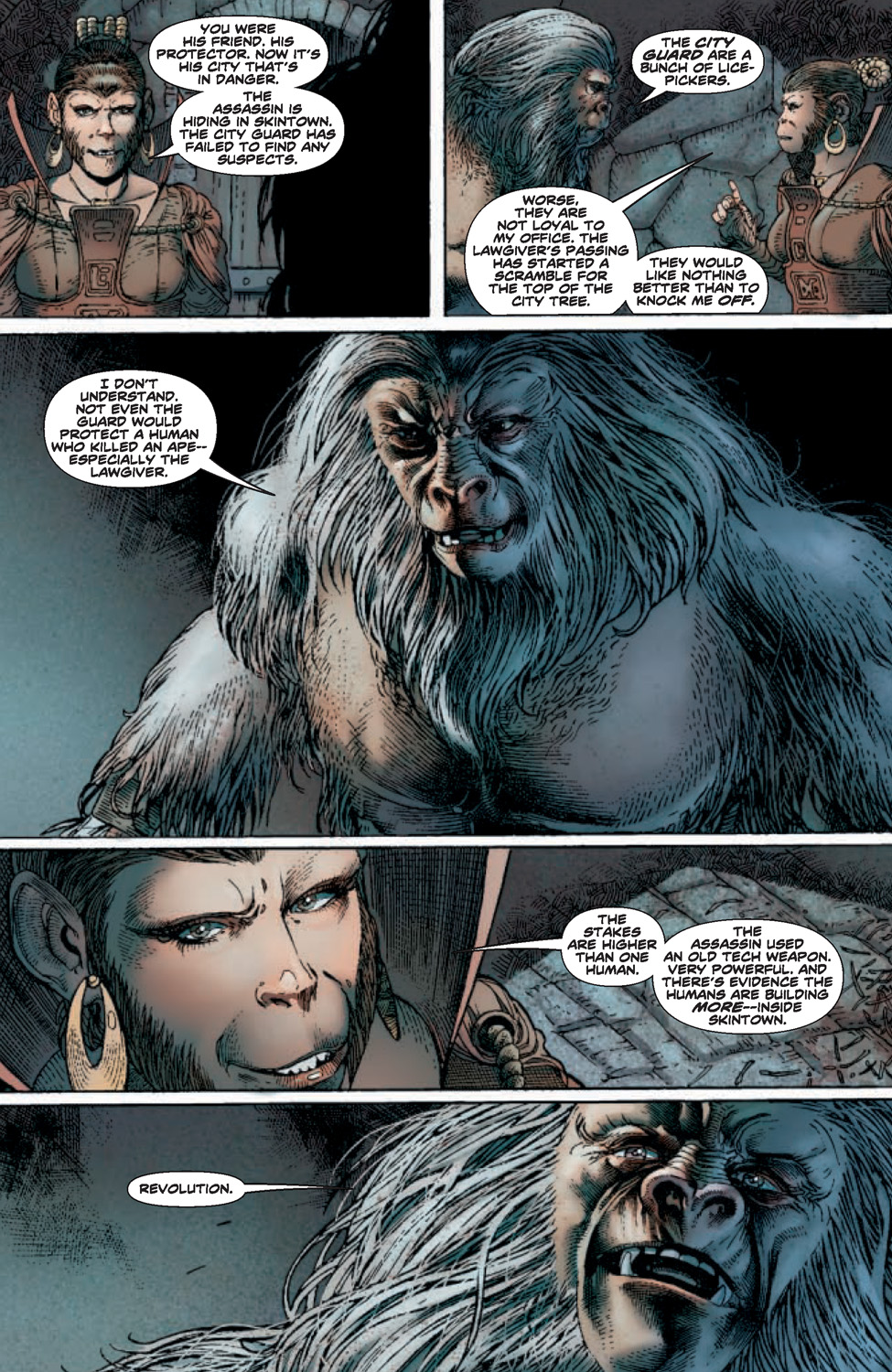 Planet Of The Apes 2 Page 4