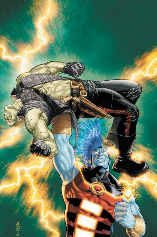 DC NEW 52 FRANKENSTEIN AGENT OF SHADE #5