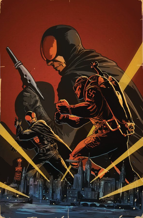 DARK HORSE PRESENTS #11 Francavilla Cover