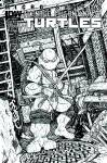 TEENAGE MUTANT NINJA TURTLES MICRO SERIES #4 Leonardo B&W Variant