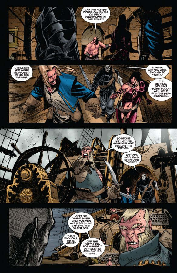 Valen The Outcast #5 Page 3