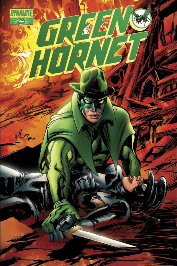 GREEN HORNET #25 Denham Cover