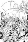 GREEN LANTERN CORPS #9 Black and White Variant