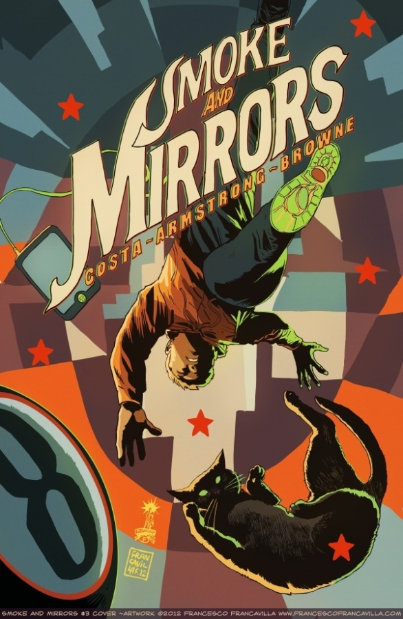 SMOKE AND MIRRORS #3 Francavilla Variant