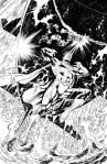 SUPERMAN #9 Black and White Variant