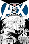 AVENGERS VS X-MEN #5 Stegman Sketch Variant