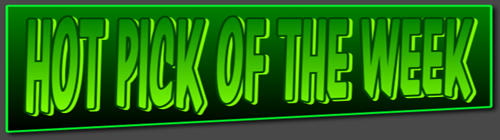 HOT PICK OF THE WEEK NEW BANNER