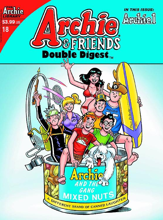 Z ARCHIE AND FRIENDS DOUBLE DIGEST #18