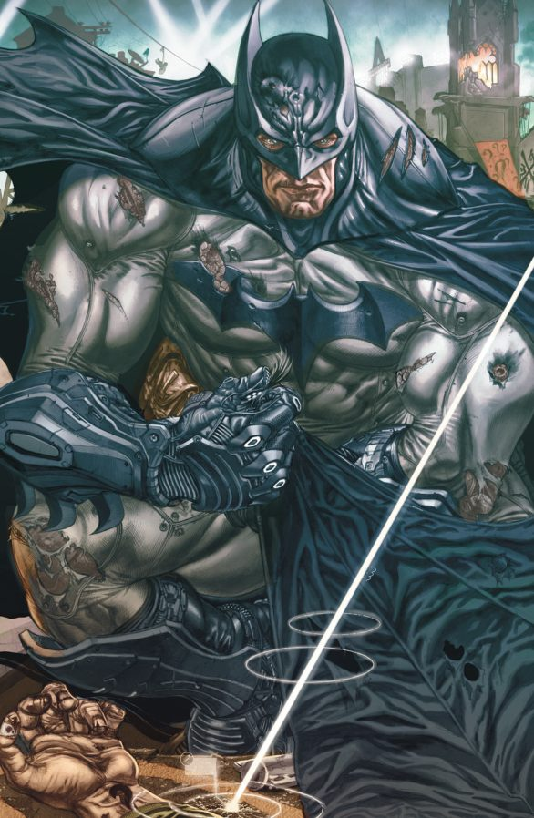 BATMAN ARKHAM UNHINGED #4