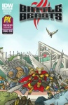 BATTLE BEASTS #1 SDCC Previews Exclusive