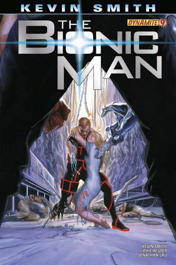BIONIC MAN #10 Ross Cover