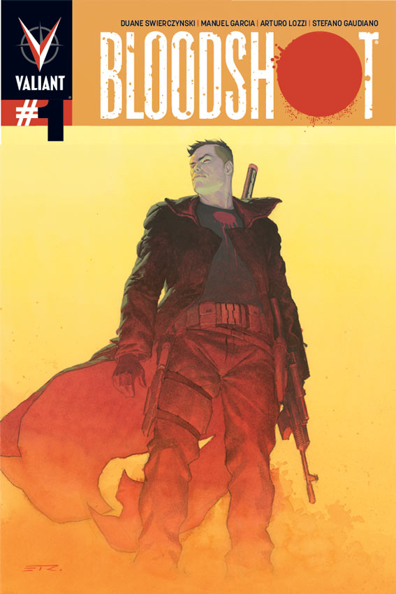 BLOODSHOT #1 1 in 50 Variant