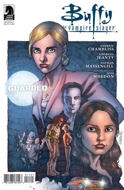 BUFFY THE VAMPIRE SLAYER SEASON 9 FREEFALL #11 Jeanty Variant