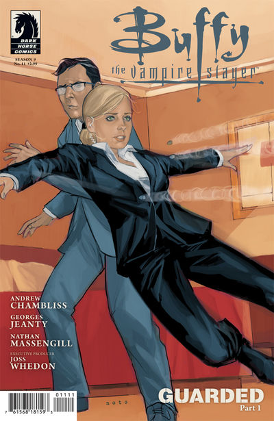 BUFFY THE VAMPIRE SLAYER SEASON 9 FREEFALL #11 Noto Cover