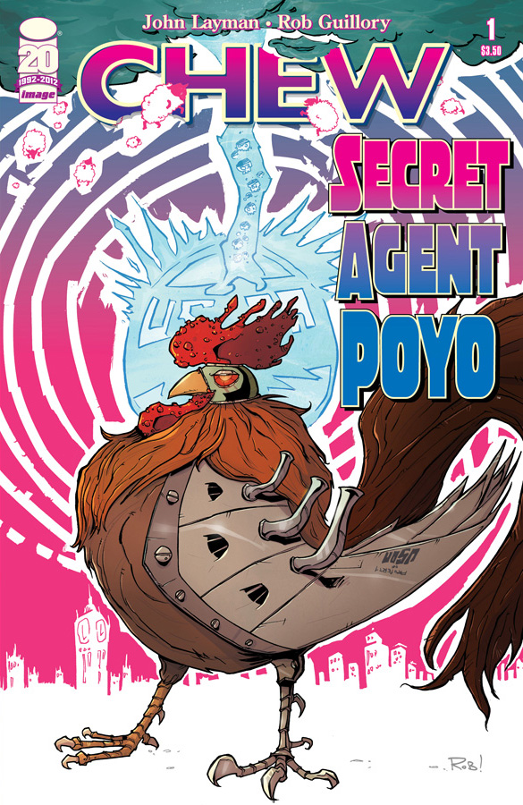 CHEW SECRET AGENT POYO #1