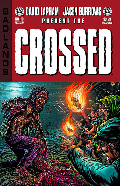 CROSSED BADLANDS #10 Auxiliary Cover