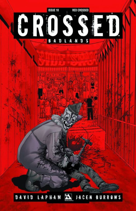 CROSSED BADLANDS #10 Red Crossed Cover