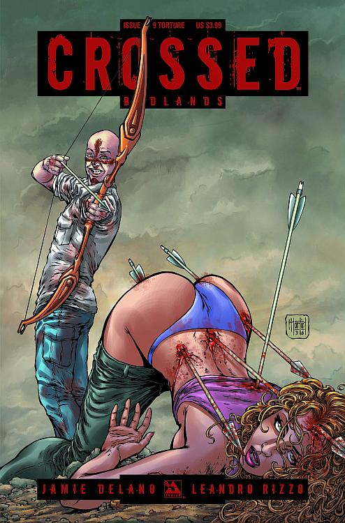 CROSSED BADLANDS #9 Torture Cover