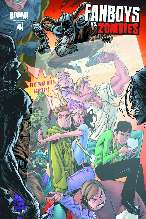 FANBOYS VS ZOMBIES #4 Cover A