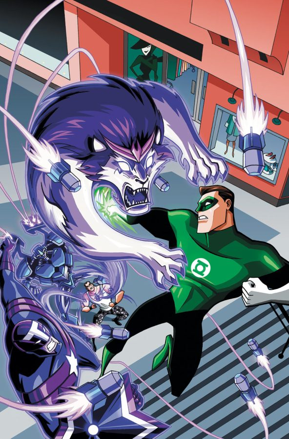 GREEN LANTERN ANIMATED SERIES #4