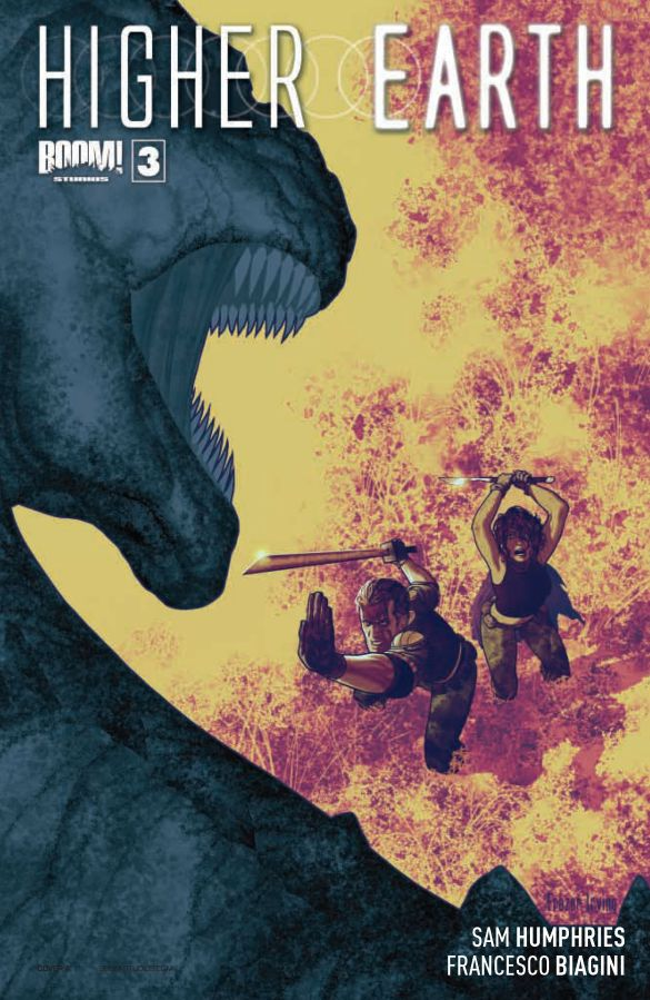 Higher Earth #3 Cover A