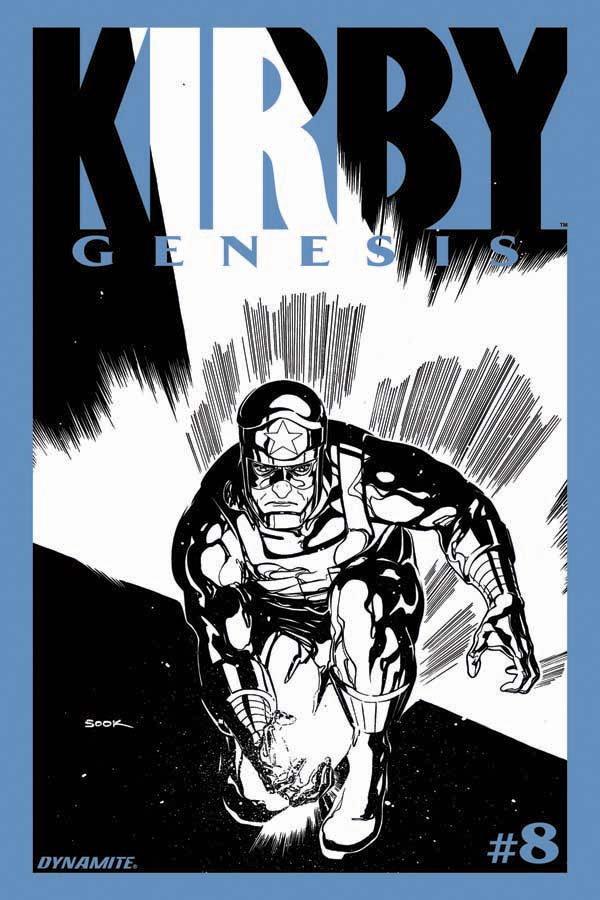 KIRBY GENESIS #8 Black & White Incentive Variant