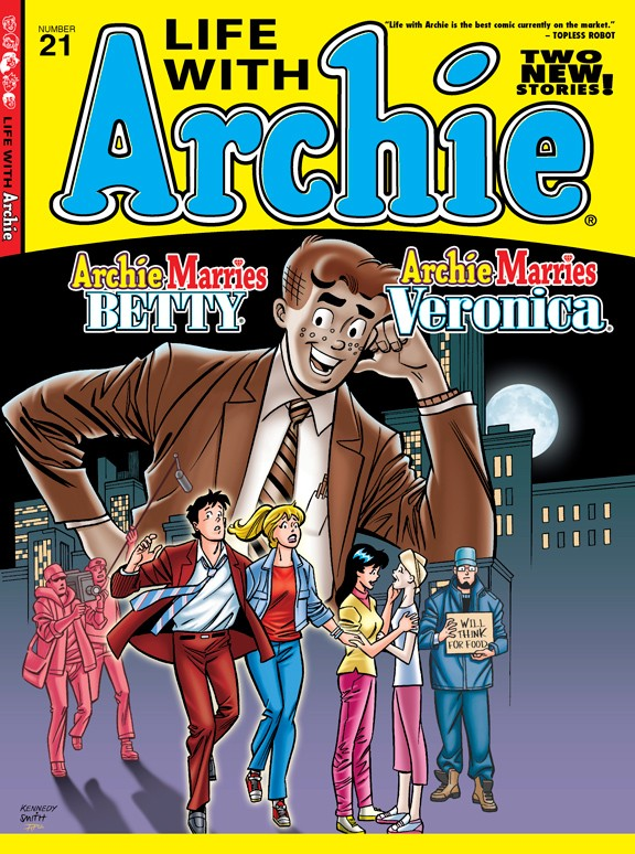LIFE WITH ARCHIE #21 Pat Kennedy Cover