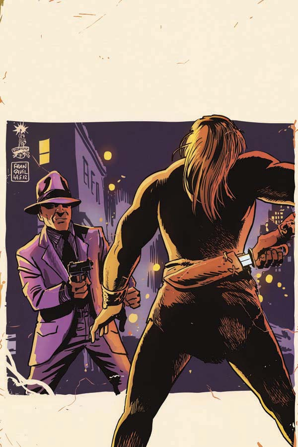LORD OF THE JUNGLE #6 Francavilla Virgin Cover
