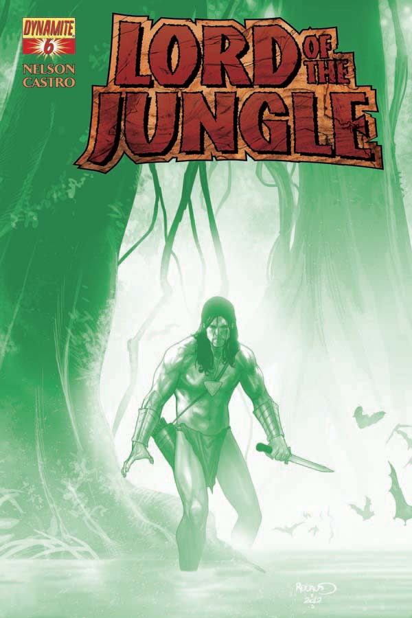 LORD OF THE JUNGLE #6 Green Cover