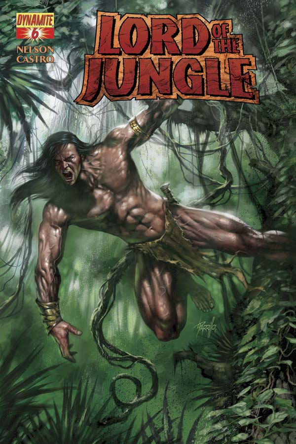 LORD OF THE JUNGLE #6 Parrillo Cover