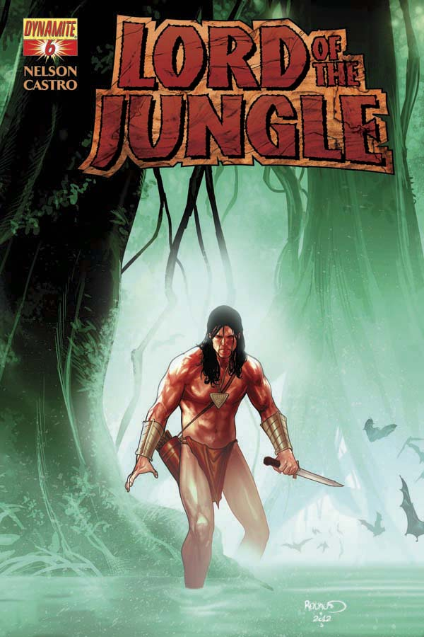 LORD OF THE JUNGLE #6 Renaud Cover