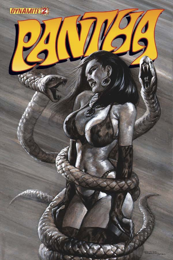 PANTHA #2 Black and White Incentive Variant