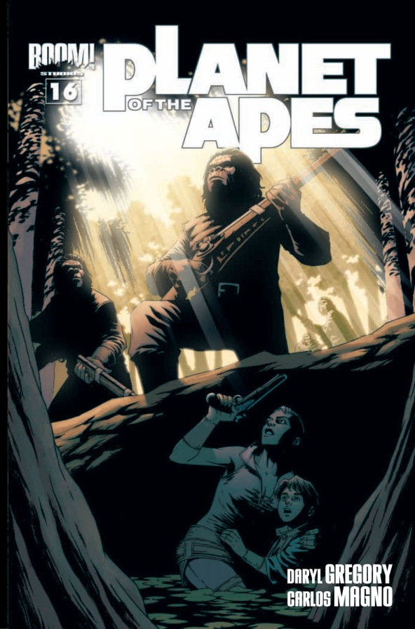 Planet of the Apes #16 Cover B