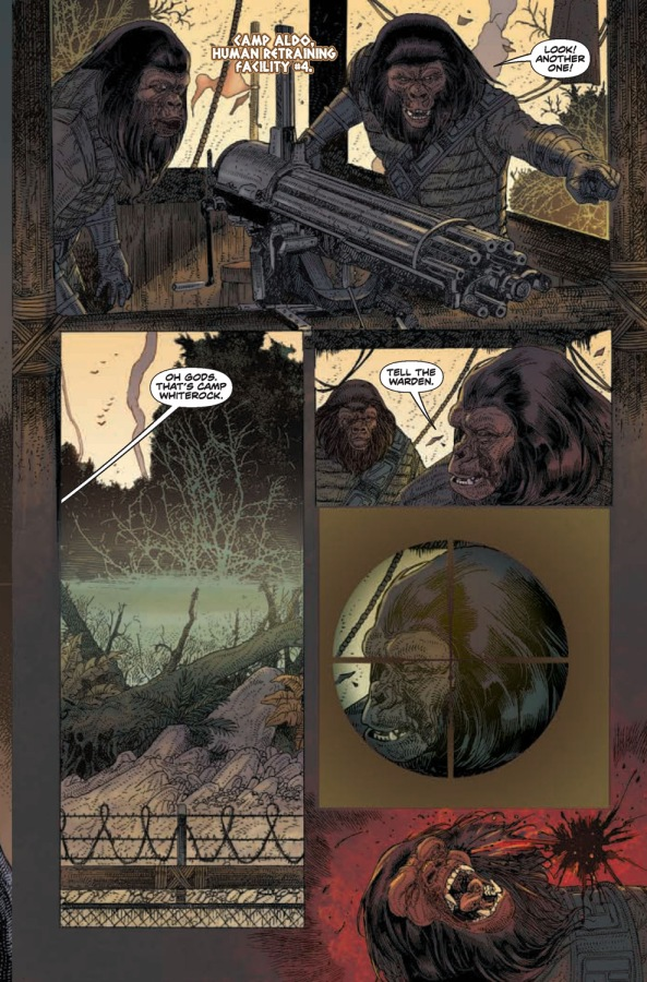 Planet of the Apes #16 Page 5