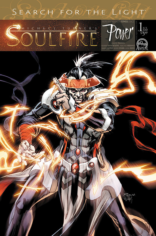 SOULFIRE POWER #1 Cover A