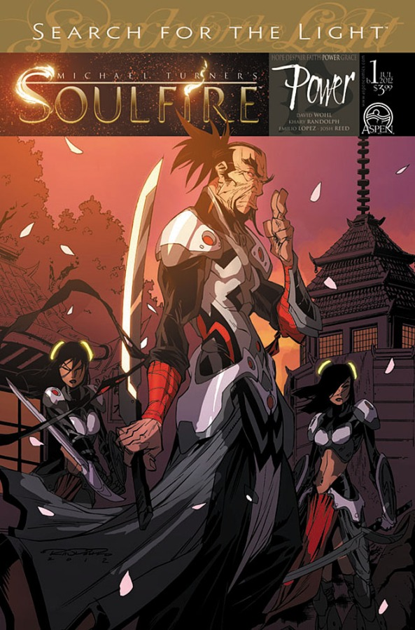 SOULFIRE POWER #1 Cover B