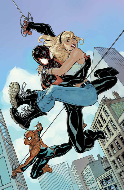 SPIDER-MEN #3 Dodson Variant