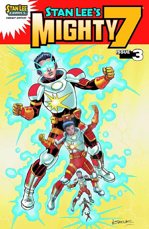 STAN LEE'S MIGHTY 7 #3 Variant