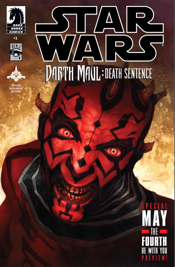 STAR WARS DAUL MAUL DEATH SENTENCE #1
