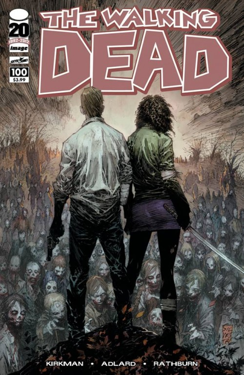 WALKING DEAD #100 Cover B Marc Silvestri