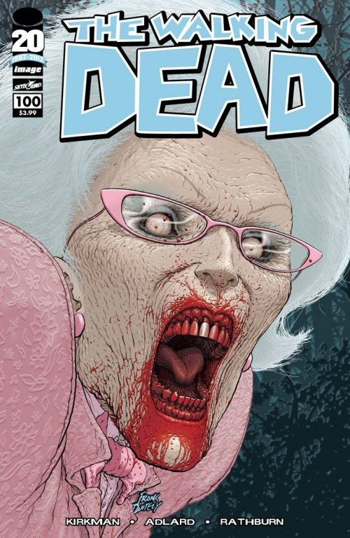 WALKING DEAD #100 Cover C Frank Quitely
