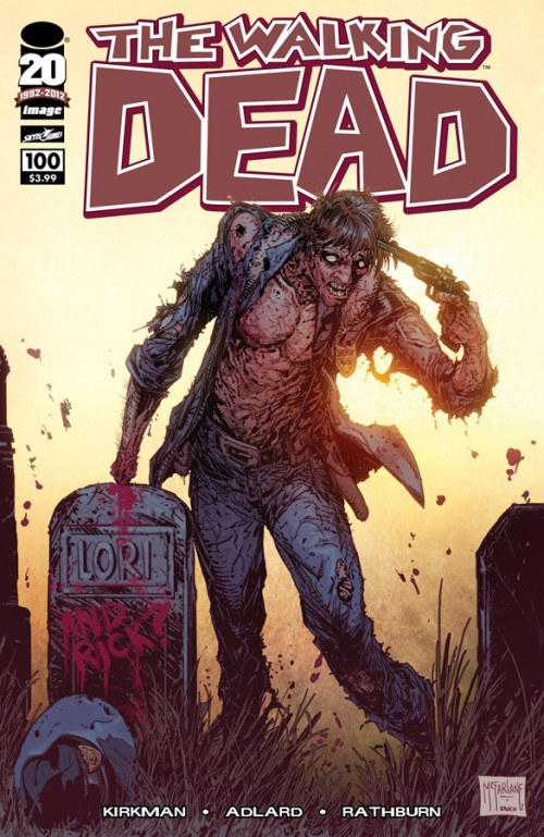 WALKING DEAD #100 Cover D Todd McFarlane