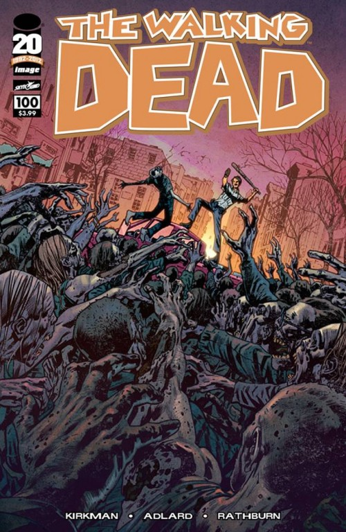 WALKING DEAD #100 Cover F Bryan Hitch