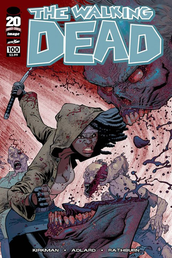 WALKING DEAD #100 Cover G Ryan Ottley