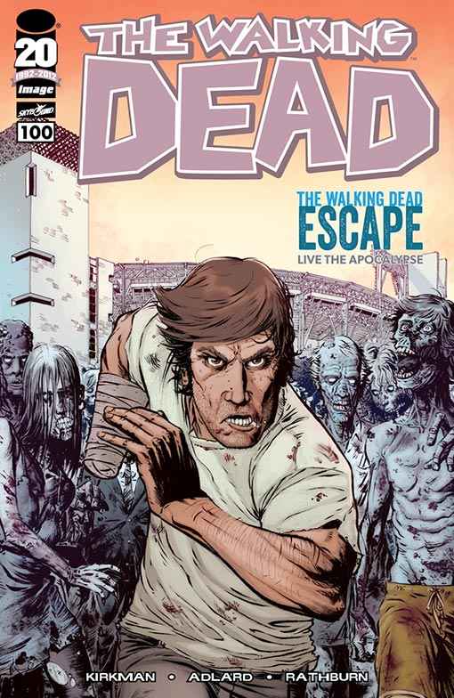WALKING DEAD #100 SDCC Exclusive