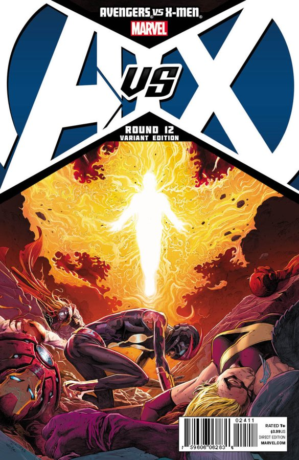AVENGERS VS X-MEN #12 OPENA COVER