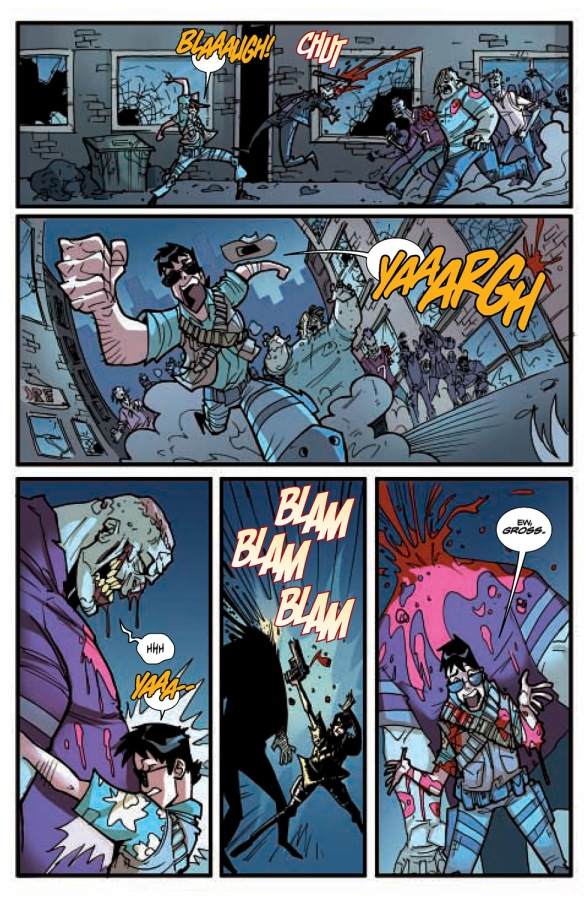 Fanboys vs Zombies #6 Page 3