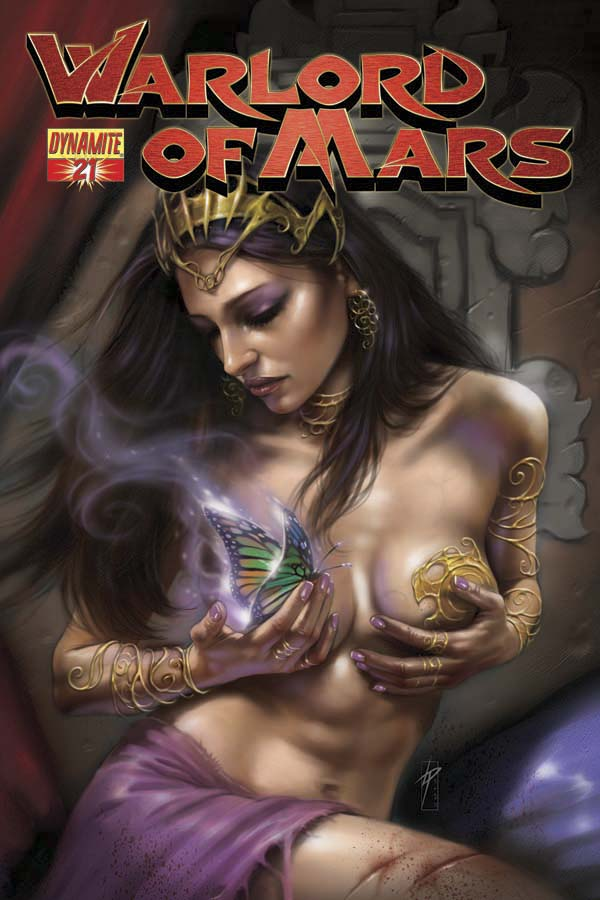 WARLORD OF MARS #21 PARILLO COVER