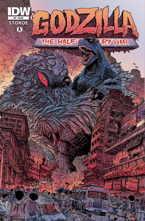 GODZILLA THE HALF CENTURY WAR #3
